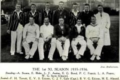 1935-36 1st XI