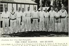 1934 1st XI