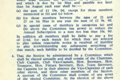 Cricket Rules 1966 - 1