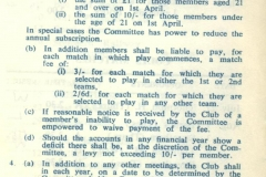 Cricket Rules 1967 - 1