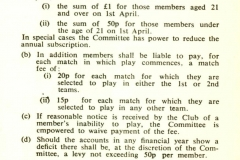 Cricket Rules 1974 - 1
