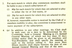 Cricket Rules 1975 - 1