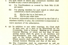 Cricket Rules 1976 - 1