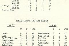 1971 Cricket